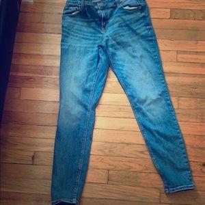 Size 12- Old Navy Jeans- RockStar Super Skinny